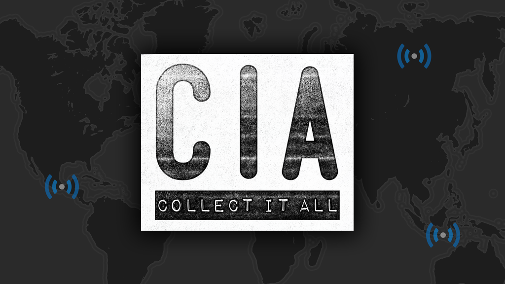 CIA collect it all logo